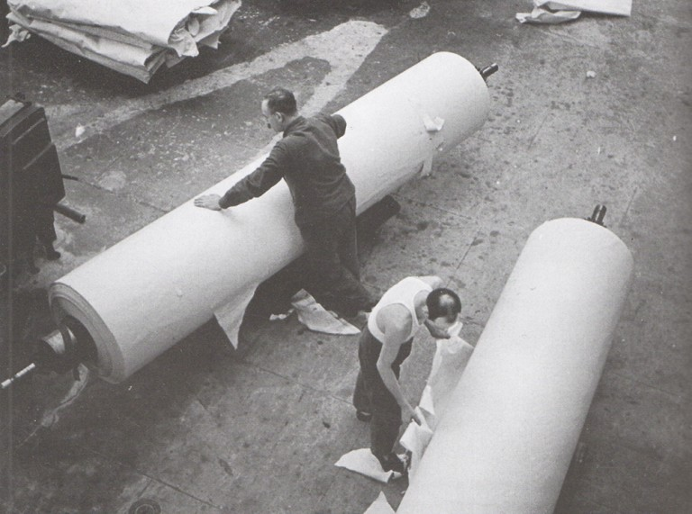 Imane Harmali Centre d'art et de mémoire de la Papeterie de la Seine
